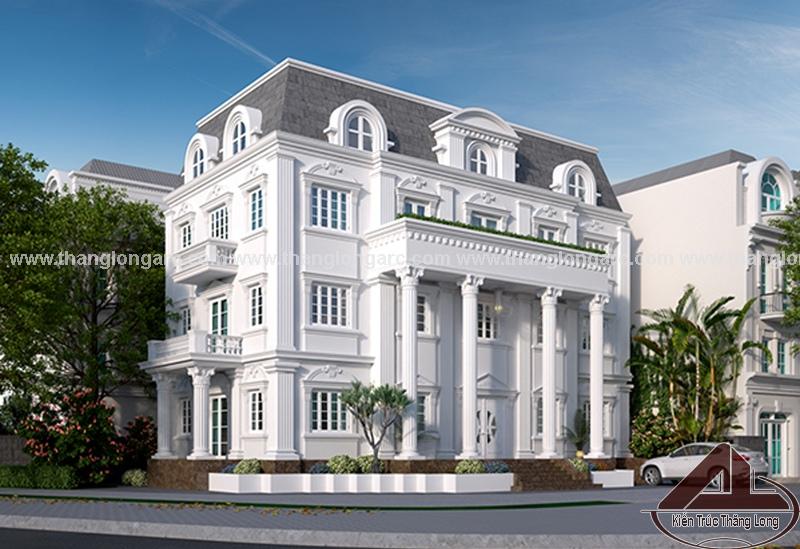 thiết kế biệt thự tại Bắc Ninh