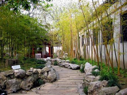 Kiến trúc cổ Trung hoa và khu vườn đẹp