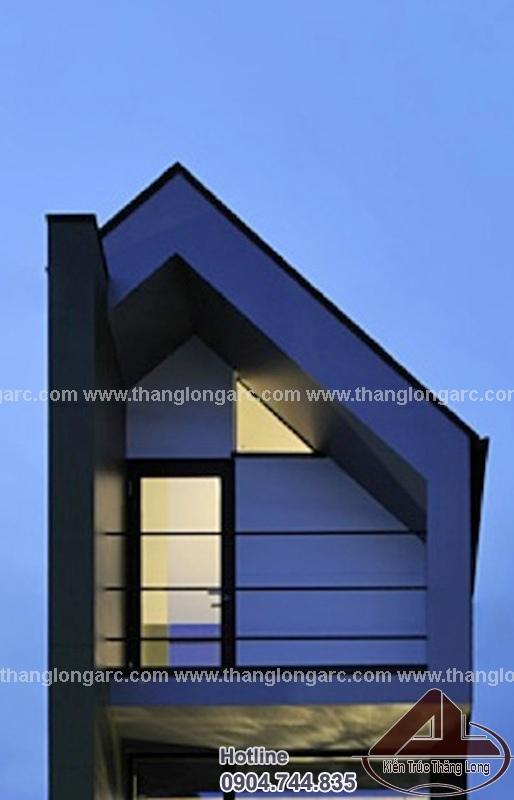 Mẫu nhà lô phố đẹp 3,5 tầng hiện đại TL-P1480 view 2