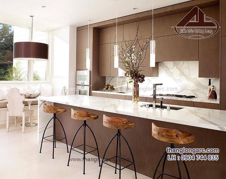 thiết kế nội thất bếp