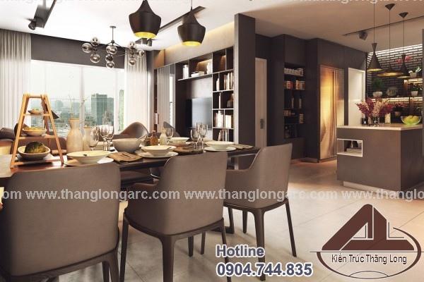 thiết kế nội thất chung cư hiện đại đẹp nhất