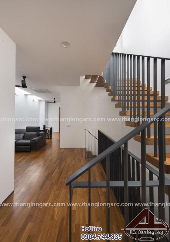 Nội thất mẫu thiết kế nhà phố đẹp 3 tầng hiện đại TL-P1290