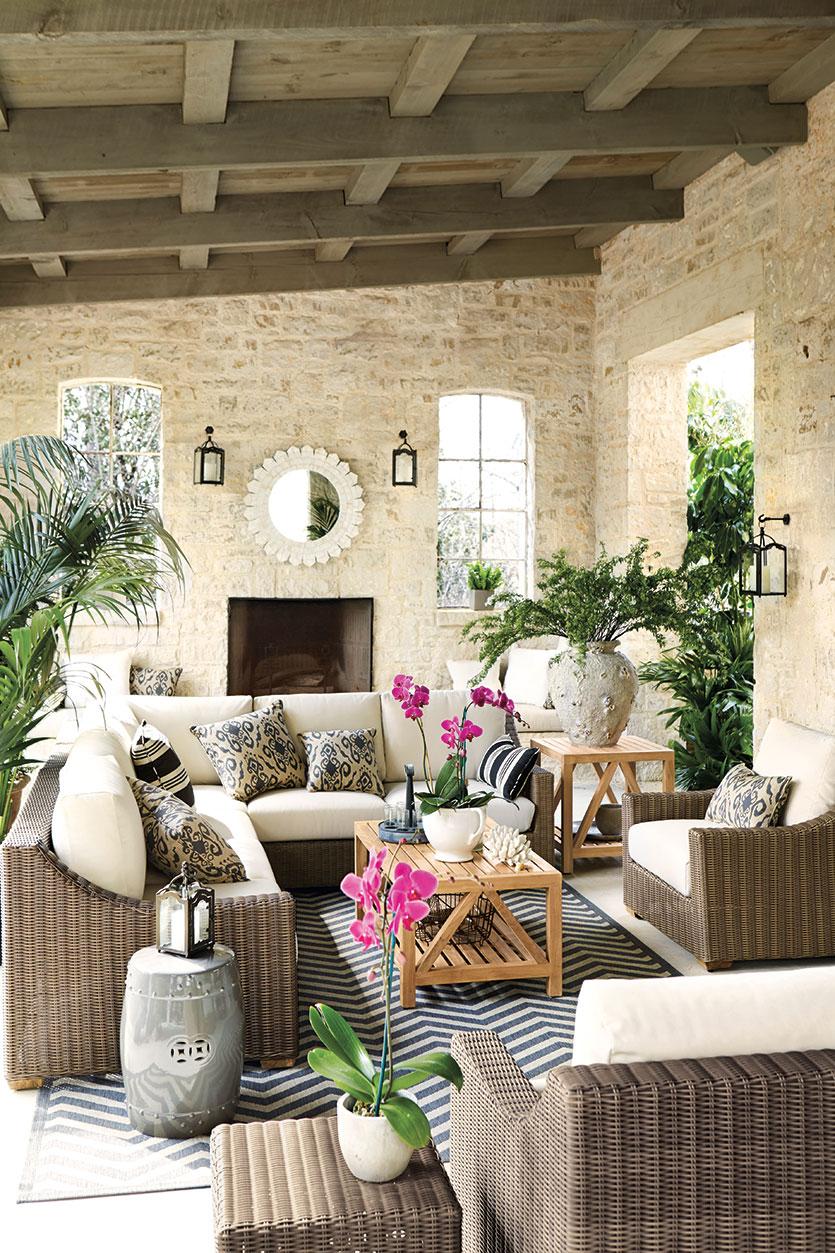 thiết kế nội thất nhiệt đới