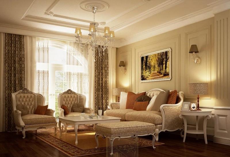 thiết kế nội thất cổ điển