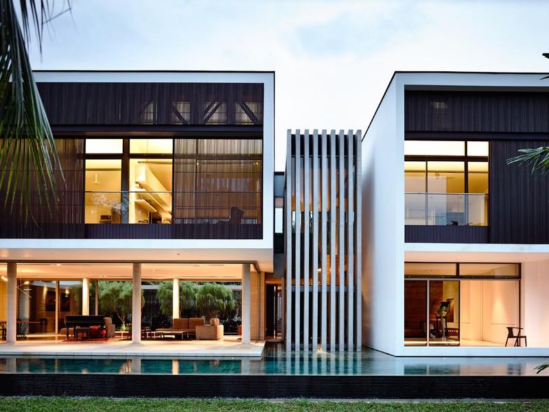 thiết kế biệt thự 2 tầng
