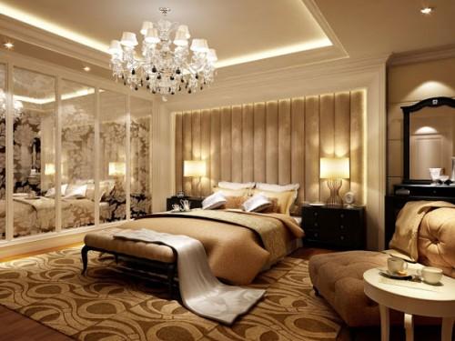 phòng ngủ thiết kế tân cổ điển