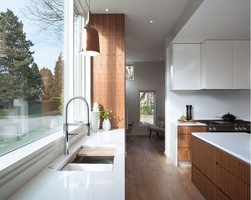 nội thất bếp của biệt thự hiện đại