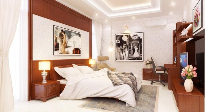 nội thất phòng ngủ nhà phố