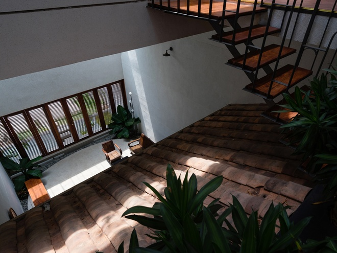 biệt thự hiện đại 2 tầng