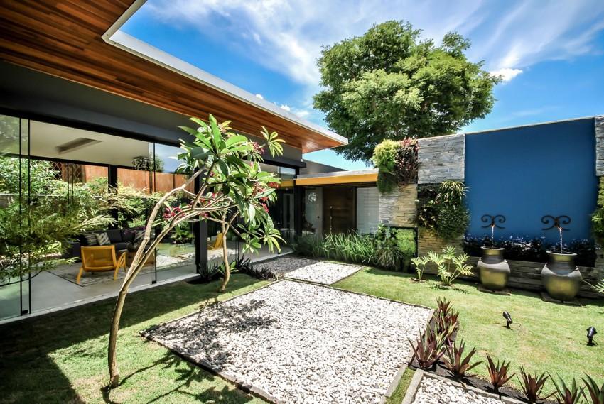 thiết kế biệt thự vườn xanh mát