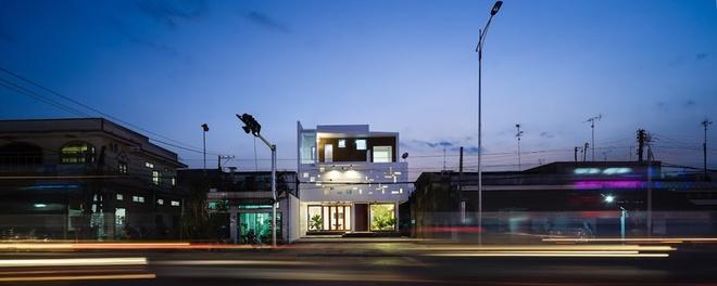thiết kế nhà phố 2 tầng đẹp
