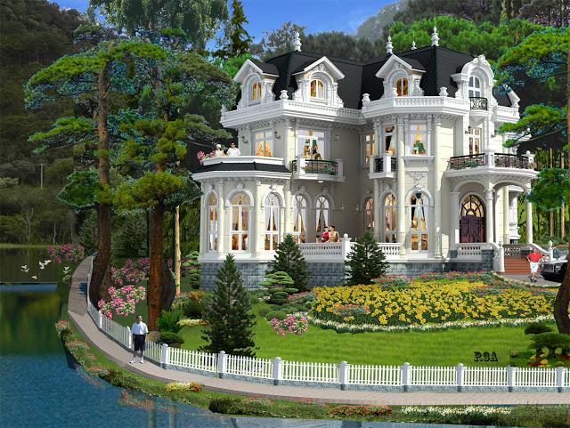 biệt thự cổ điển đẹp
