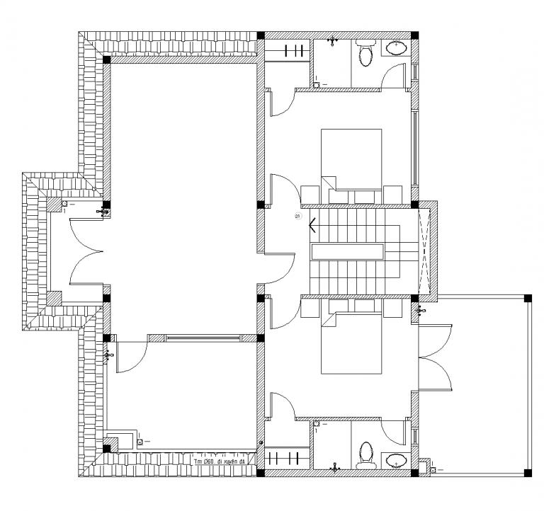 biệt thự 2 tầng đẹp nhất