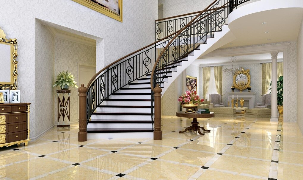 nhà biệt thự đẹp cổ điển 3 tầng