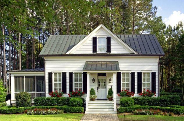 thiết kế nhà vườn kiểu Mỹ