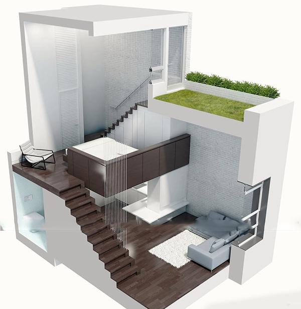 mẫu thiết kế nhà cấp 4 đẹp